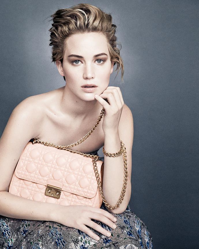 Jennifer Lawrence for Dior.