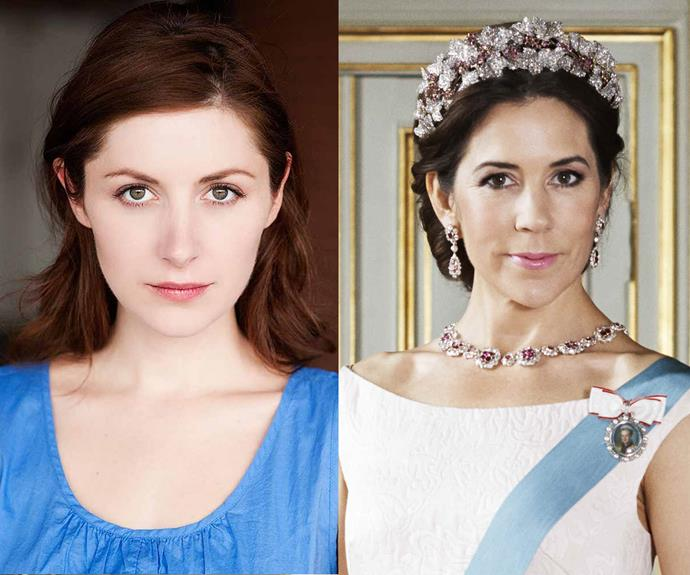 Emma Hamilton has been cast as our own Princess Mary in *Mary: The Making Of A Princess*.