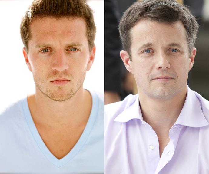 Ryan O'Kane has been cast as her onscreen Prince Charming, Prince Frederik
