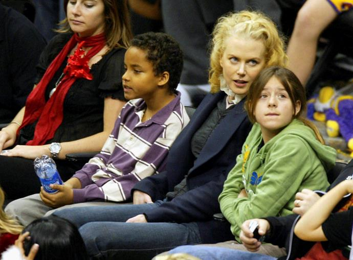 And Deborra-lee and Ange aren't the only A-listers to adopt. Nicole Kidman adopted her eldest children Connor and Isabella with first husband Tom Cruise.