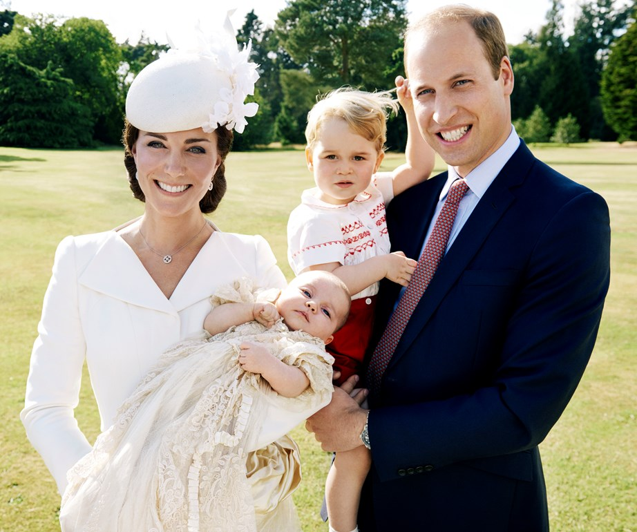 It is custom for the Royal Family to release an official family photo after a Royal Christening - we can't wait for the new one featuring Prince Louis!