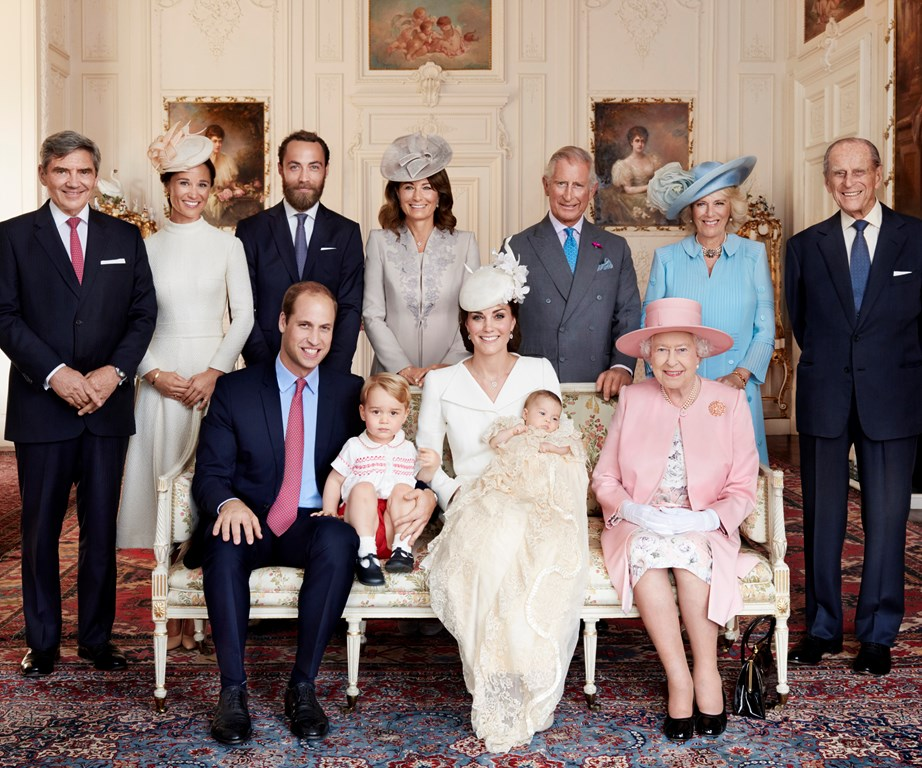 Another whole family portrait is sure to be released following Prince Louis' christening, with this one being taken back in 2015 at Princess Charlotte's baptism.
