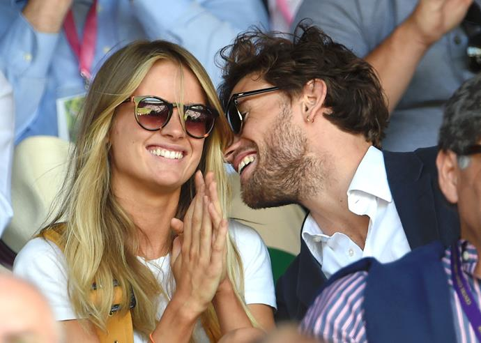 Cressida and Edward were in town to see both Federer and Nadal play.
