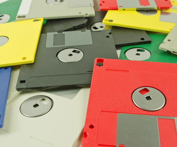 """Mum, what is this?"" A floppy disc which once hosted so many answers will only drum up questions."