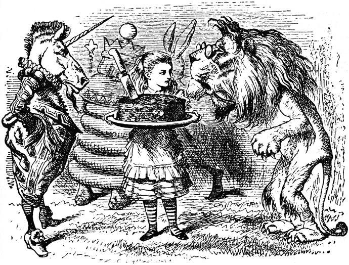 Alice in Wonderland, Lewis Carroll – 100m