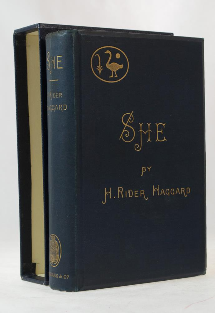 She: A History Of Adventure, H.Rider Haggard – 83m