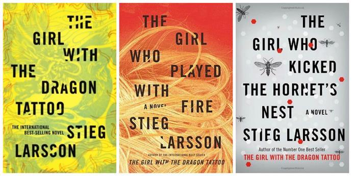 Millennium Trilogy, Stieg Larsson – 50m