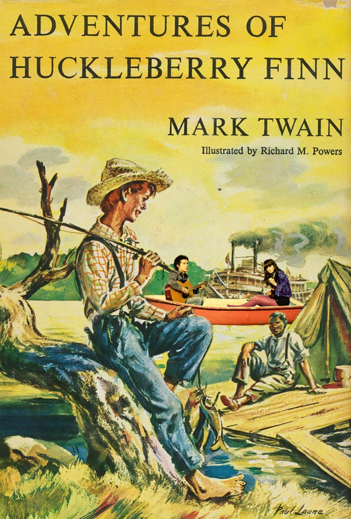 The Adventures Of Huckleberry Finn, Mark Twain – 20m