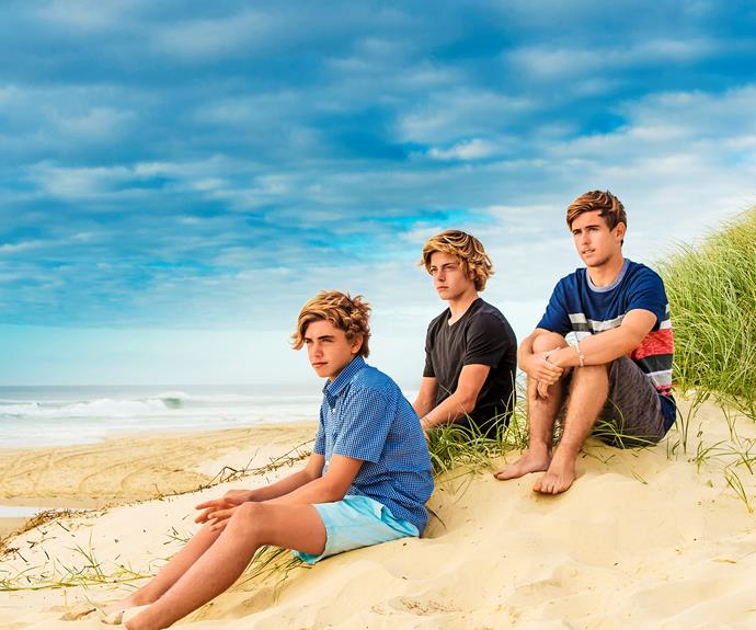 Kurt Gillan, Linsay Issac and Shayden Shrader tell of how they fought to save a mate.