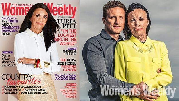 Turia's game changing 2014 cover. The Weekly has been following Turia and Michael's love story for years.