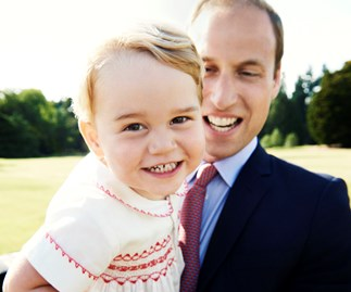 Prince George is obsessed with his newest toy