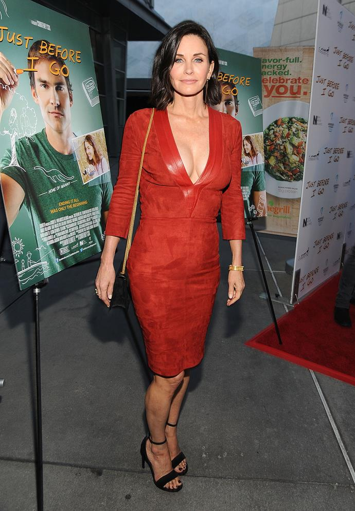 As is Courteney Cox, 51.