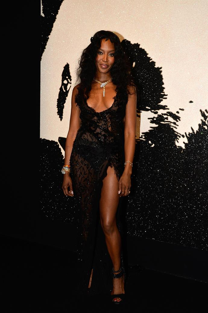 At 45, Naomi Campbell could still be confused with her 21-year-old self.