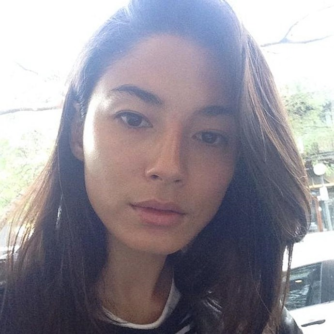 Aussie model Jessica Gomes stripped back and stunning.
