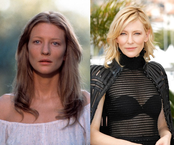 Cate Blanchett at 31 and 46.