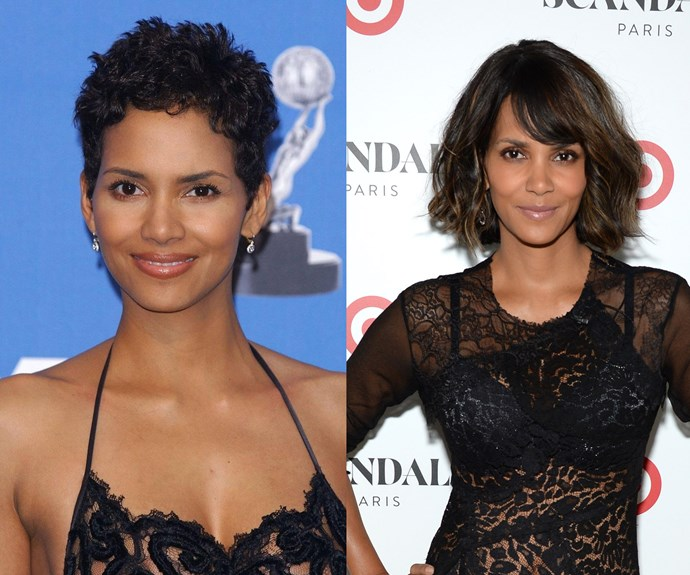 Halle Berry at 31 and 48.