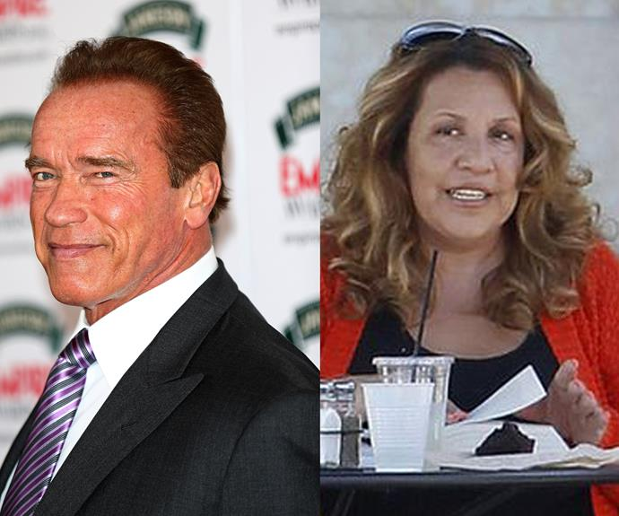 Arnold Schwarzenegger fathered a son, Joseph, maid Mildred Baena. He has now finished school.