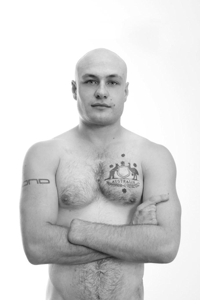 Chris, leukaemia survivor. Photography by Lisa Auger.
