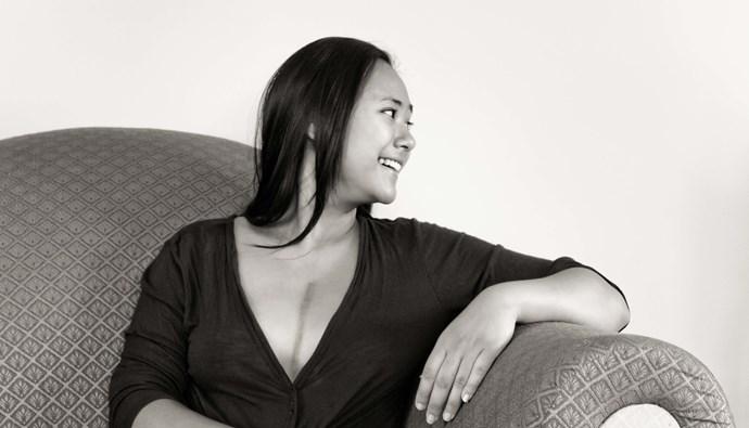Lisa, Hodgkin's lymphoma survivor. Photography by Steve Tyssen.