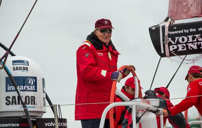 King Juan Carlos of Spain has been sailing for decades.