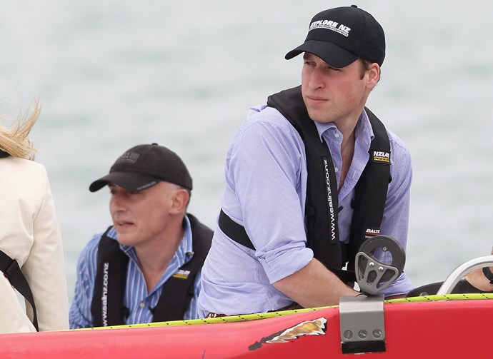 Prince William was taught a lesson by his wife, but the Prince was a good sportsman about it!
