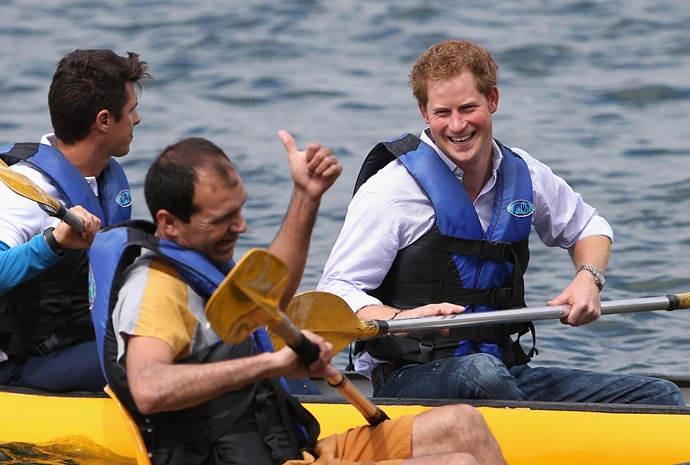 Something Prince Harry clearly inherited!