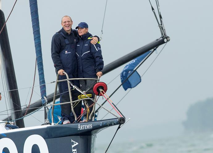 As do Zara Philips and husband, Mike Tindall, the loved up pair recently took part in a sailing competition in the Isle of Wight.