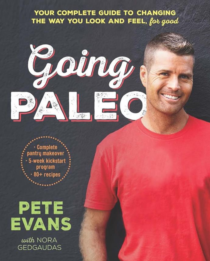 Pete Evans' first Paleo book, *Going Paleo*.