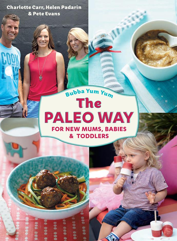 Pete Evans' second book, *Bubba Yum Yum: The Paleo Way*.