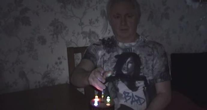 Terry Johnson showing off some of his specialist ghost-hunting equipment Youtube.