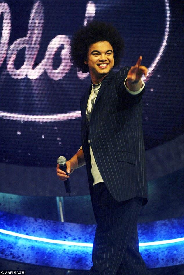 Since his TV triumph, Guy Sebastian (Australian Idol, 2003) has gone from strength to strength, with numerous hit songs and even a fifth place finish at Australia's very first Eurovision Song Contest last year.