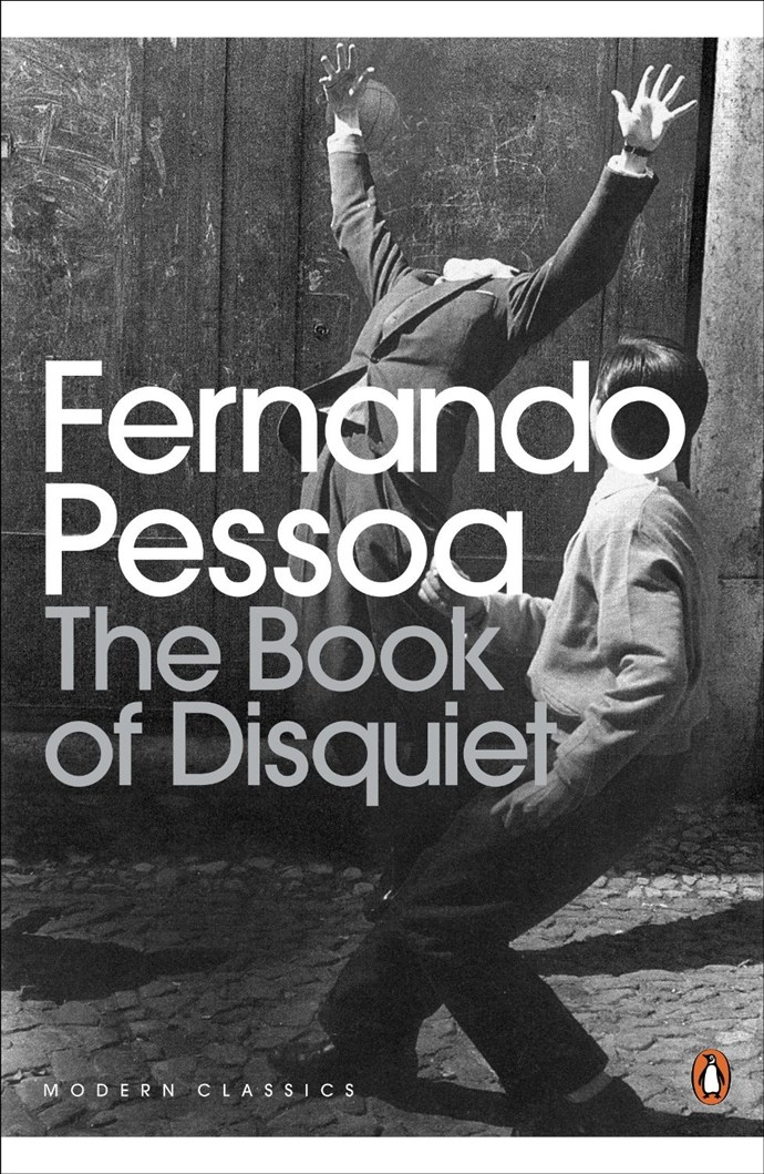 "Fernando Pessoa's *The Book of Disquiet* is an unedited, ""factless"" autobiography about the life of Pessoa  which has been described as ""many books in one book, by many authors, yet one author""."