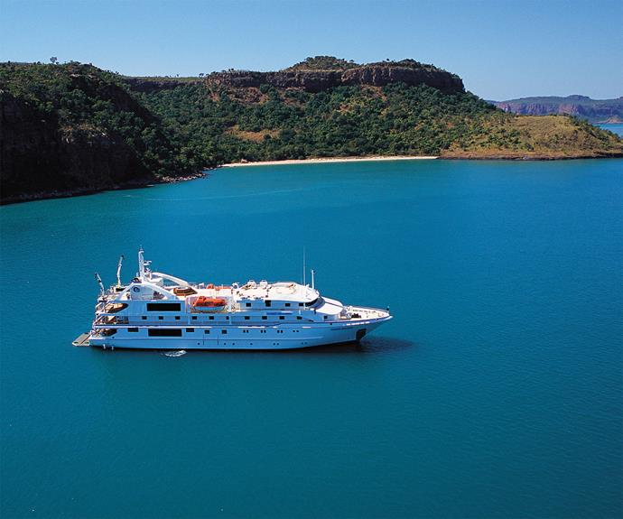 "**An Intimate Itinerary.** *Silversea (Silver Discoverer)* Exploring the stunning surroundings of the Kimberley coastline requires more than grand cruising. While a smaller size than ordinary cruise vessels, the [Silver Discoverer's](http://www.silversea.com/ships/silver-discoverer/|target=_""blank"") reach extends well beyond the limits of where her larger brethren could explore. A shallow draft allows the on-board luxury to brush up close to the natural beauty of Western Australia without disturbing the wildlife. A smaller ship also allows for more personalised attention from the dedicated crews and an intimate adventure in what is one of the most stunning locations in the world. A fleet of Zodiacs will allow you access and exploration from the water or remote landings anywhere nature or your own curiosity dictates."