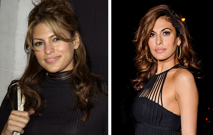 Eva Mendes, 41, still sports that smooth olive skin she did when she first burst onto our movie screens in the early noughties.
