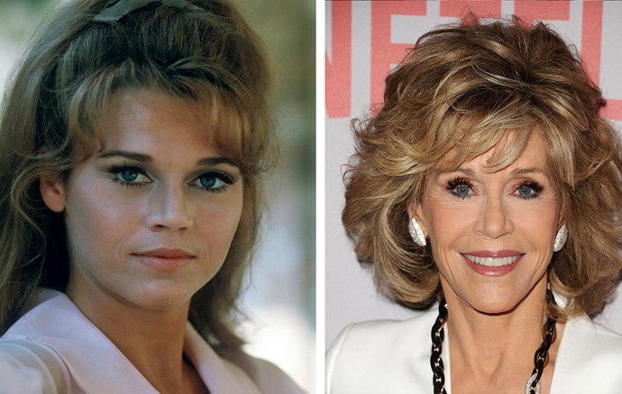At 77 Jane Fonda is still a covergirl - and why wouldn't she be? She's still oozing that beauty that made her a sex symbol in the 70s.