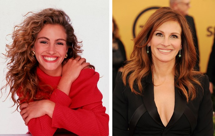 At 47 Julia Roberts is still cashing in on those high cheekbones and bright smile. Just this year the actress was selected over many of her younger contemporaries to become the face high fashion label Givenchy.