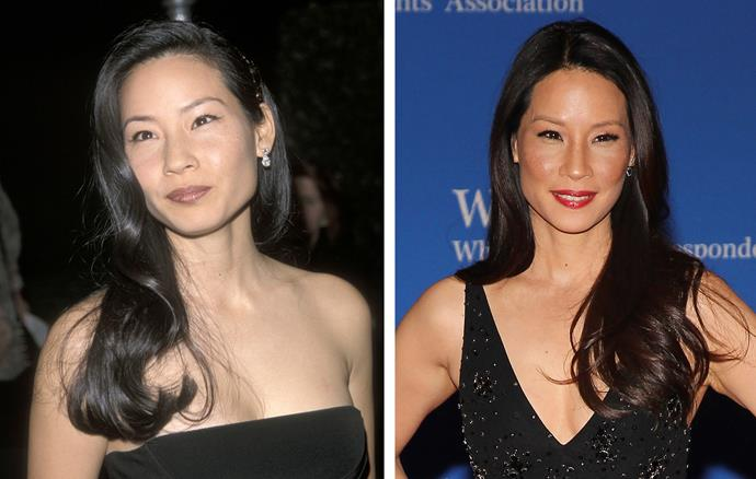 Lucy Liu's good genes will ensure the 46-year-old will look at lot younger than the calendar years reflect.