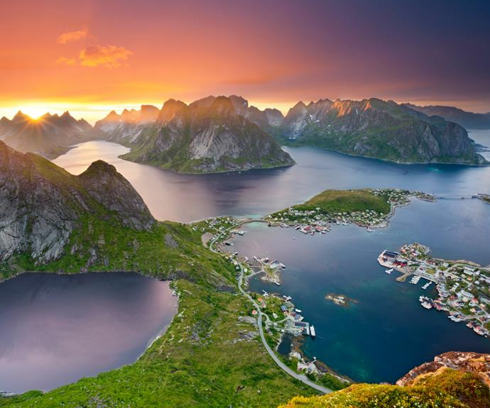 **Norway** The fabled fjords are a cruise must. Tidy farming villages are dwarfed by soaring cliffs, glaciers calve off mighty ice cubes into a cocktail-blue sea, gannets and puffins squawk. The lucky see the northern lights. Norway's coastal towns – pretty Bergen, Art Deco-era Ålesund, elegant Trondheim – are a treat. *Recommended: [Norwegian Fjords](http://www.pocruises.com/r604/?leadmeta=i) via [cruises.com.au](http://www.cruises.com.au/).*