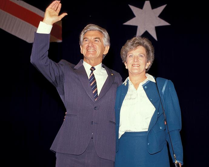 Bob Hawke and Hazel Hawke.