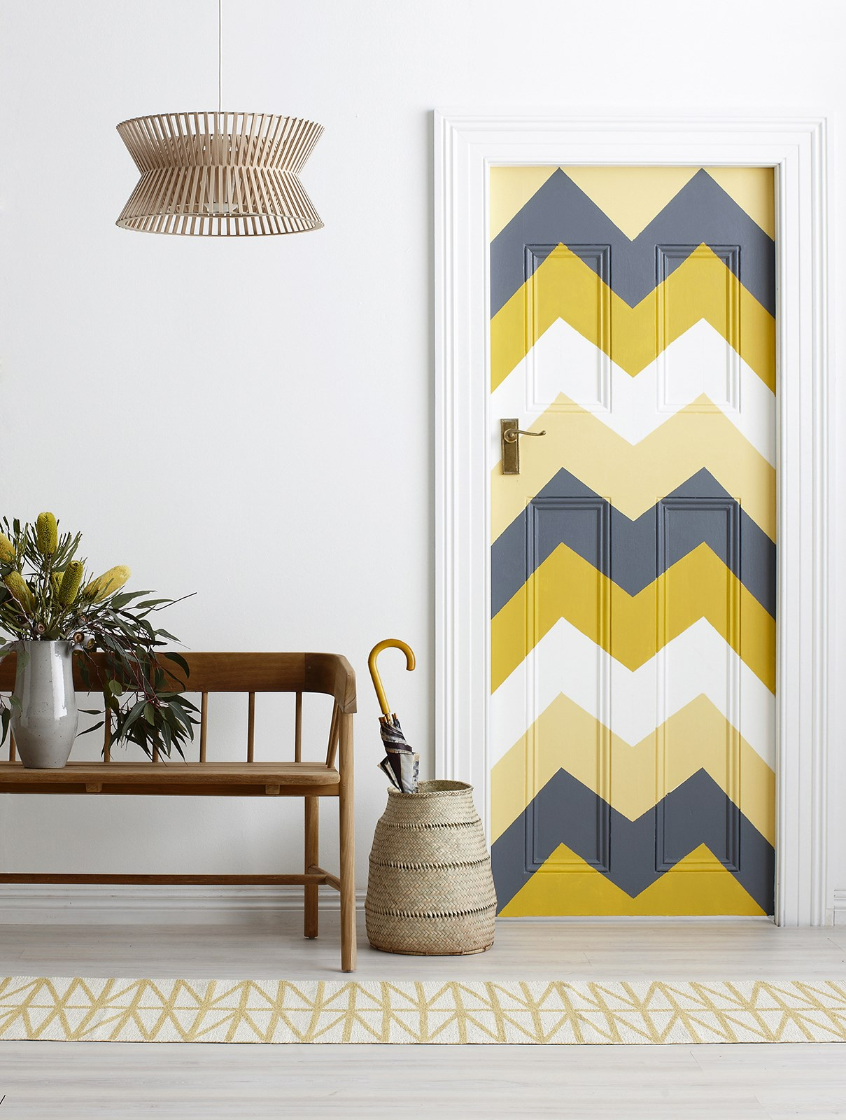 """Elevate a neglected corner of your home with a [colourful paint project](http://www.homestolove.com.au/colour-palette-weekend-paint-projects-1932 target=""""_blank""""). Photo: Will Horner / *Australian House & Garden*"""