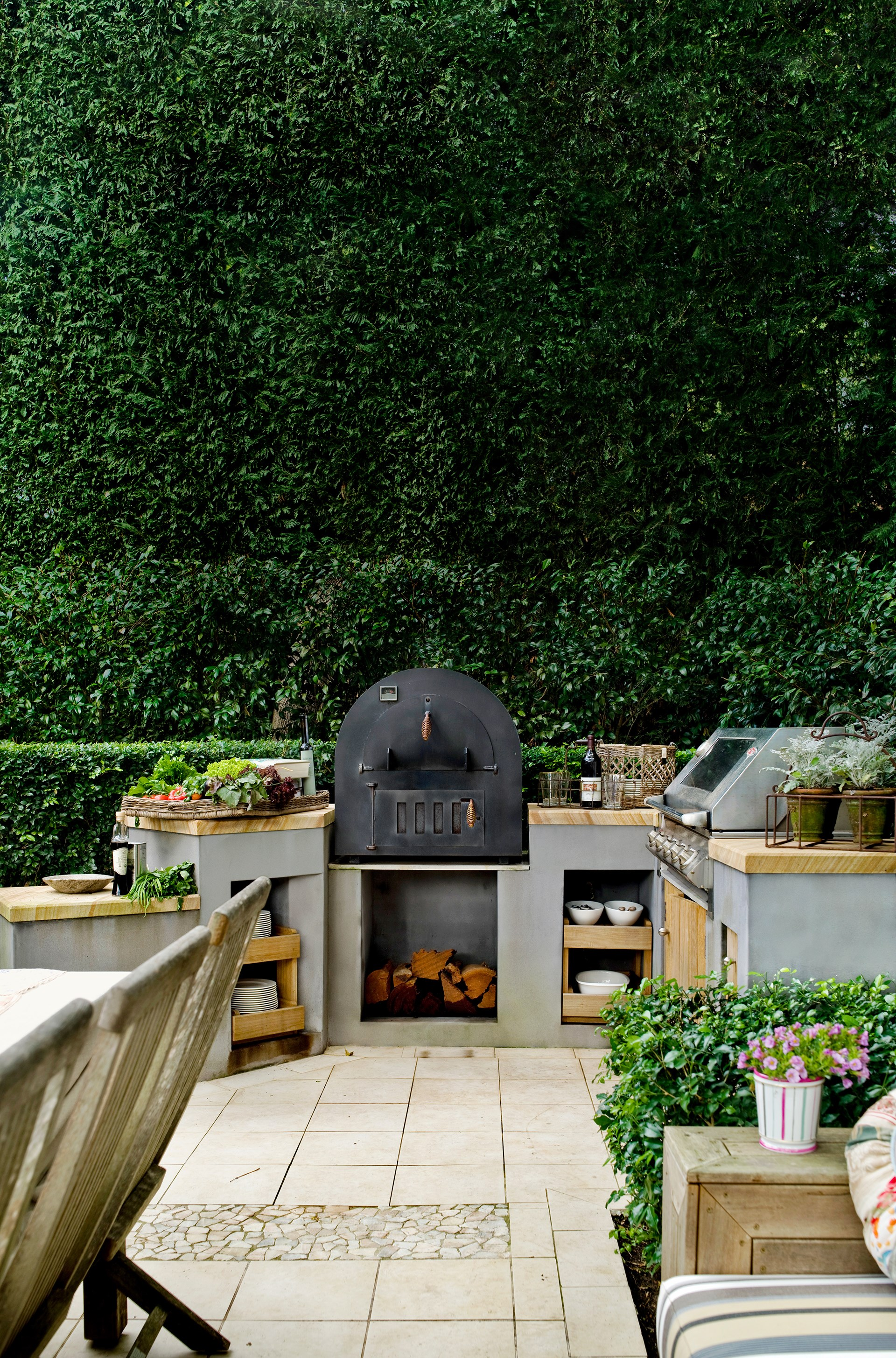 "Give your barbecue some [tender love and care](http://www.homestolove.com.au/how-to-care-for-your-barbecue-1897/?utm_campaign=supplier/|target=""_blank"") to ensure it lasts for many years to come. Photo: Scott Hawkins / *Australian House & Garden*"