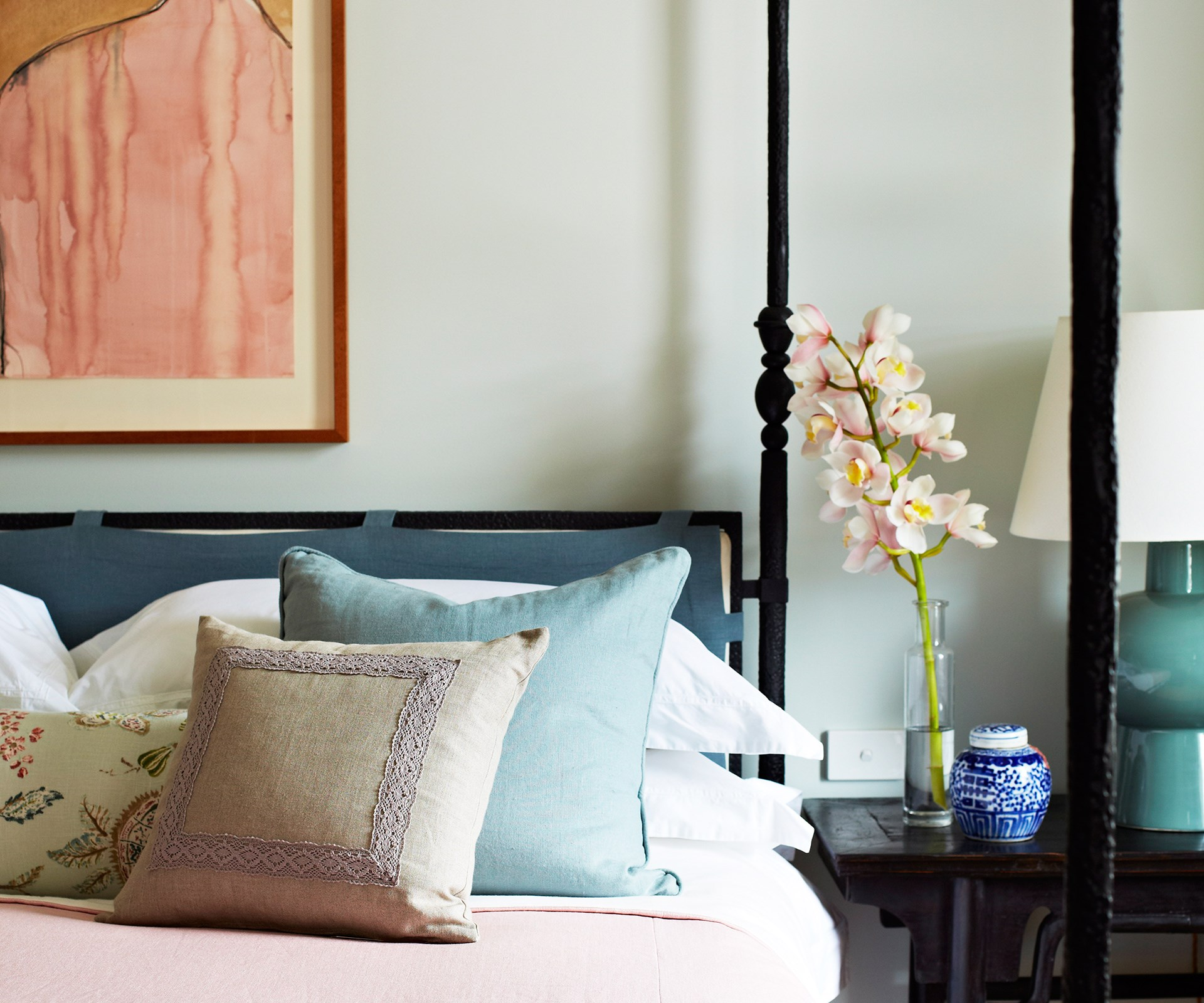 "Turn your spare room into the [perfect guest bedroom](http://www.homestolove.com.au/7-shortcuts-to-create-the-perfect-guest-bedroom-1729/?utm_campaign=supplier/|target=""_blank"") that will wow guests. Photo: John Paul Urizar / *real living*"