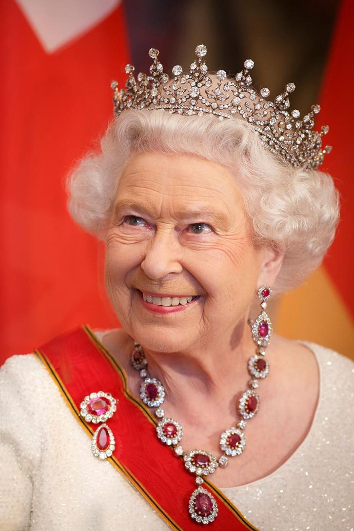 And, of course, Queen Elizabeth is the Queen of Sparkle!