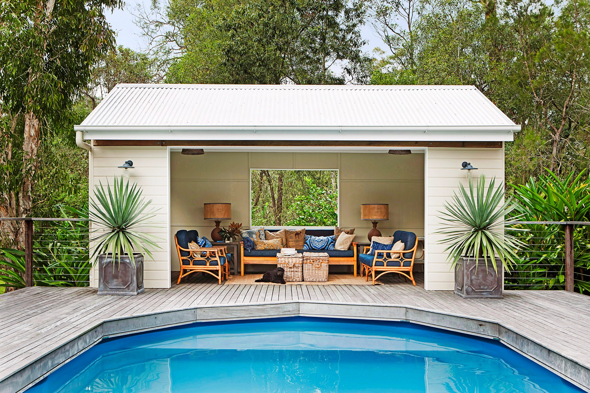 "It's also worth weighing up if you can afford a swimming pool. The answer is almost certainly yes! Find out the [best budget swimming pool options](http://www.homestolove.com.au/yes-you-can-afford-a-pool-2261/|target=""_blank"") and take the plunge. Photo: *homes+*"