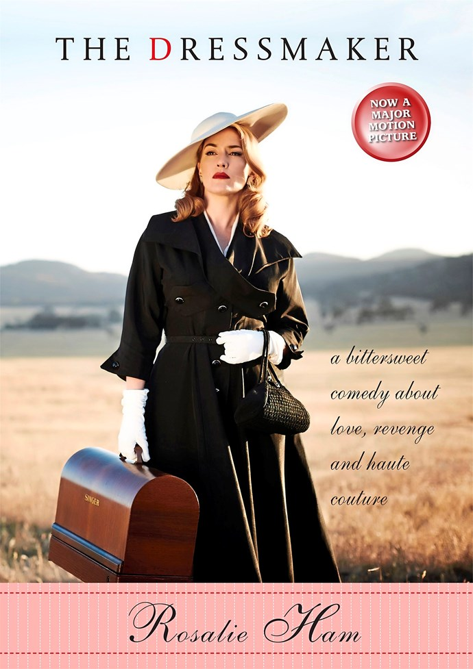 **The Dressmaker by Rosalie Ham, Duggy & Snellgrove.** It's the 1950s and Dungatar is a tiny town full of small minds. Cast out as a child, Tilly Dunnage is back and is now a Paris trained dressmaker with a vengeful plan. But she keeps her true intentions to herself as she turns the town's matrons into some of the best dressed women in the world. The Dressmaker is an Australian satirical gothic romantic tragedy, and I'm pretty sure that makes it a true original. First published in 2000, it's been reissued to coincide with the release of the movie, which stars Kate Winslet and Liam Hemsworth. The film has a lot to live up to. Somehow Rosalie Ham has crafted a farce that is genuinely moving, an unlikely but thoroughly charming apocalyptic revenge fantasy peppered with delectable descriptions of couture designs.