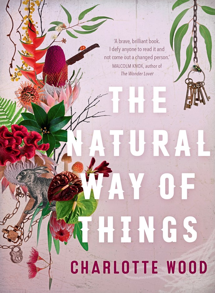 **The Natural Way of Things, by Charlotte Wood, Allen & Unwin.** Charlotte Wood's astonishing new novel opens with a chilling scene: two women wake from a drugged sleep to find themselves imprisoned in the desert. They have no idea why they have been taken, who their captors are or what their intention might be. Soon there are joined by eight other women, and when heads have been shaved and strange uniforms donned, they are chained together and forced by guards to toil under a hot Australian sun. As the days pass, the women learn about each other and what binds them to their suffering, as well as share their hopes for rescue. Only rescue doesn't come, and when food begins to run low, it becomes apparent that the only rescue will be the one they can forge themselves. The Natural Way of Things is a rattling good read and a stinging indictment of contemporary misogyny.