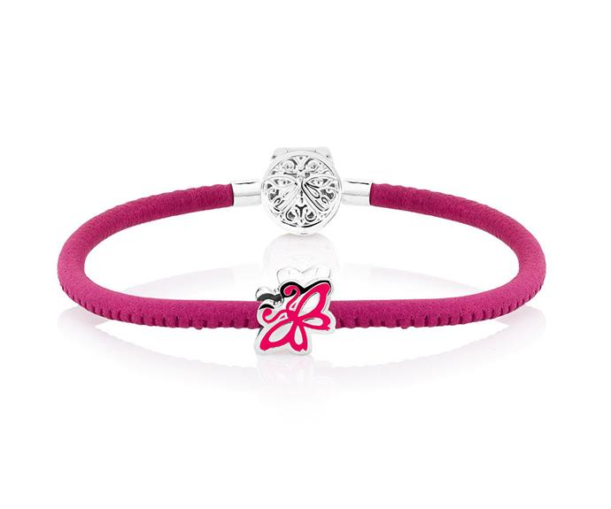 Thinking of buying jewellery and helping support a charity? Look no further than this pink Napa leather charm bracelet. Proceeds from the sales of this collection will go to the Pink Hope Foundation. **$99** [Emma & Roe](http://www.emmaandroe.com.au/pink-leather-sterling-silver-pink-hope-19cm-7.5-charm-bracelet-12919093.html?cgid=collections-shop-pinkhope#start=3)