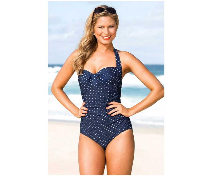 Affordable and Summer appropriate, this Quayside Boyleg Ruched Bodice Swimsuit will have her looking fabulous on the beach or by the pool. **$49** [BigW](http://www.bigw.com.au/women/swimwear/quayside-boyleg-ruched-bodice-swimsuit-80227.htm)