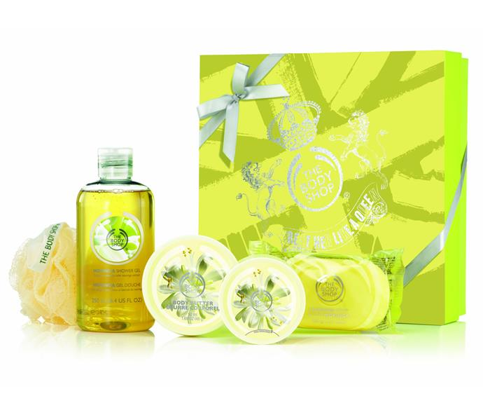How about a Body Shop gift box? [The Body Shop](http://www.thebodyshop.com.au/gift-finder.aspx#.scat193&Signature-Gifts).