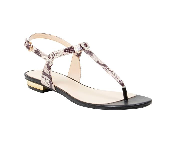 Nine West sandals **$119** [Nine West](http://www.ninewest.com.au/sandals/unlock/w2/i4382160_1433823/).